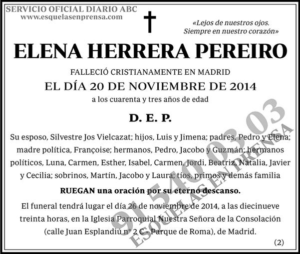 Elena Herrera Pereiro
